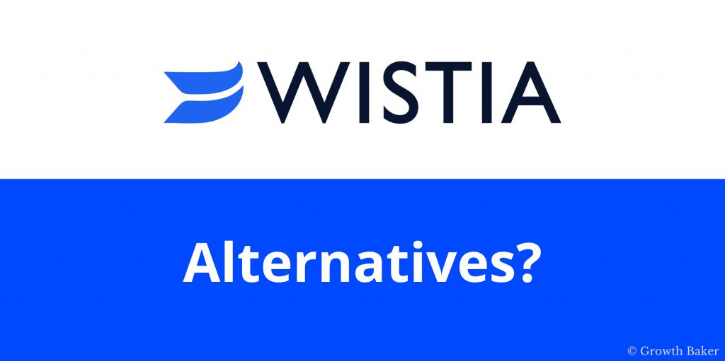 Wistia alternatives